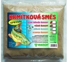 Krmítková směs oliheň - konopí 2kg