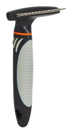 Hrablo s rotačnímy zuby,antiskluz.rukojeť 10x15cm, zuby 2cm