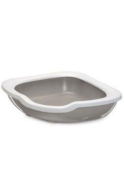 WC kočka rohové s vysokým okrajem 51x51x15,5cm