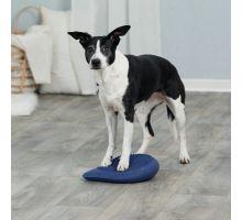 Dog Activity balanční polštář 28 x 4 x 28 cm tmavě modrý