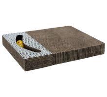 Škrabací karton s hračkou 38 x 30 cm bílý