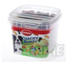 SANAL Coachy Bones - poloměkké kostičky kuře, hovězí 100 g