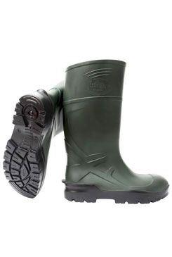 Holínky Techno boots model Classic zelené