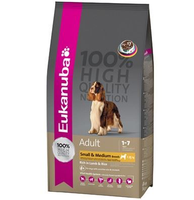 Eukanuba Adult Small & Medium Lamb & Rice