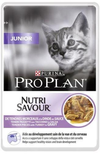 Purina PRO PLAN Cat kaps. Junior Turkey 85g