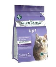 Arden Grange Adult Cat Light with Chicken & Potato