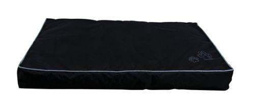 Pelíšek obdelník DRAGO černý 90x65 cm