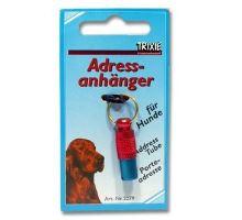 Adresář kovový červeno-modrý 25/10mm Trixie