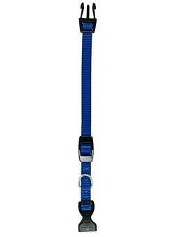 Obojek nylon CLUB C modrý