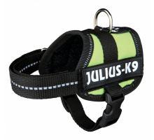 Julius-K9 silový postroj limetově zelená