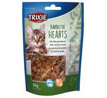 Premio BARBECUE HEARTS s kuřecím, grilovaná srdíčka 50 g