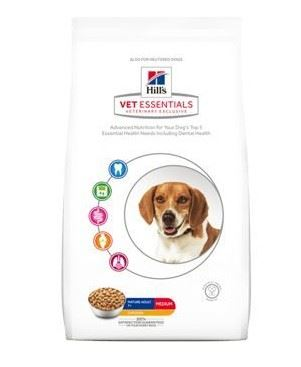 Hill's Canine VetEssentials Dry Mature Dental Medium & Large  2kg
