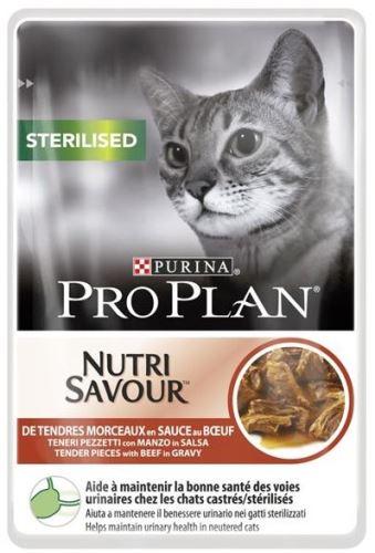 Purina PRO PLAN Cat kaps. Sterilised Beef 85g