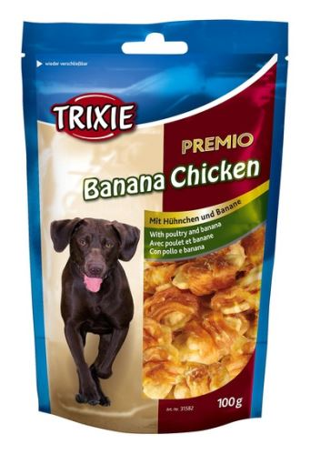 Premio BANANA & CHICKEN - kuře s banánem 100g