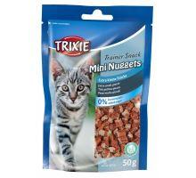 Trainer Snack MINI NUGGETS s tuňákem,kuřecím a catnipem 50g