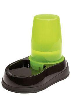 Miska se zásob. na vodu černo-zelená