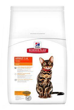 Hill's Feline Dry Adult Light Kuře 10kg