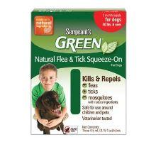 Sergeanťs Green spot on pro psy nad 30kg 3x5ml