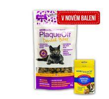 PlaqueOff Dental Bites Cat 60g exp. 5.9.2018