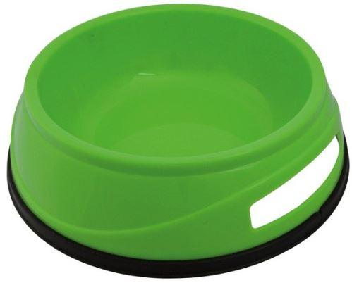 Plastová HEAVY miska s gumovým okrajem 0,75 l / 16 cm