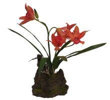 Lucky Reptile Orchidej - červená cca 25 cm