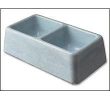 Dvojmiska betonová 2 x 0,3 l 1ks 1 KS