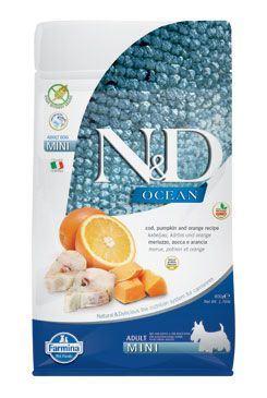 N&D OCEAN DOG GF Adult Mini Codfish&Pumpki&Orange