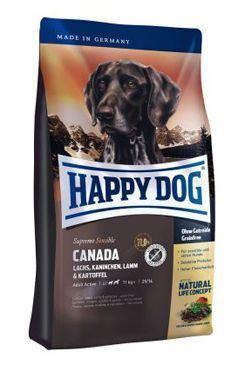 Happy Dog Supreme Sensible CANADA los, králík, jehně