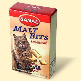 SANAL Maltbits Antihairball proti bezoárům 75g