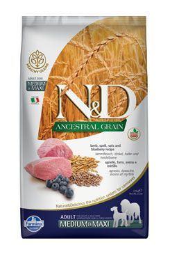 N&D LG DOG Adult M/L Lamb & Blueberry