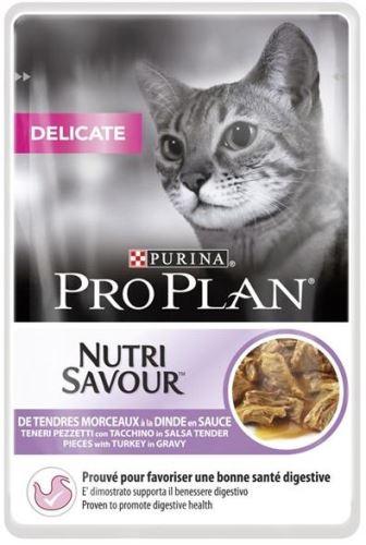 Purina PRO PLAN Cat kaps. Delicate Turkey 85g