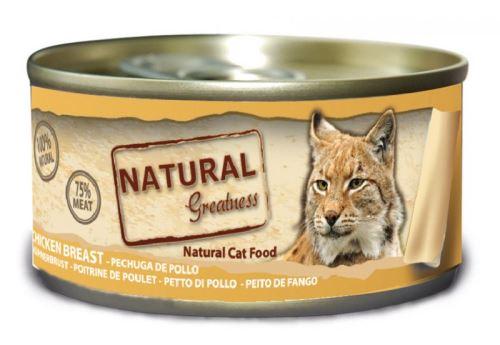 Natural Greatness konzerva pro kočky