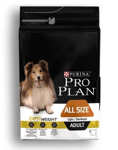 Purina Pro Plan Dog Adult ALL SIZE Light/Sterilised