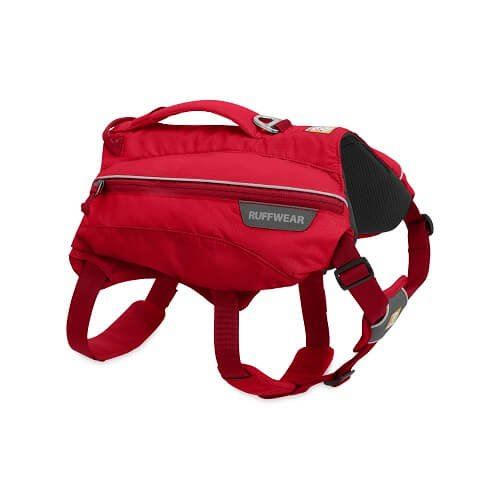 Ruffwear batoh pro psy, Singletrak Pack, červený