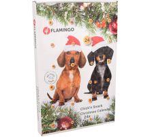Flamingo Adventní kalendář s kuřecími pamlsky pro psy