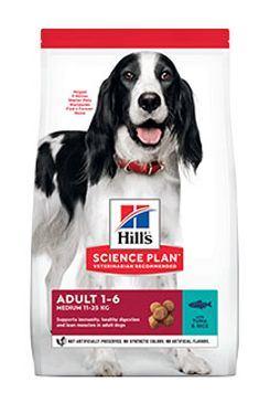 Hill's Can.Dry SP Adult Medium Tuna&Rice 12kg