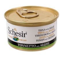 SCHESIR Cat tuňák + mořská řasa v želé 85g