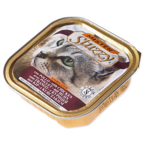 MISTER STUZZY Cat pro sterilizované kočky kuřecí 100g