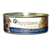 APPLAWS dog chicken, salmon & rice 156g
