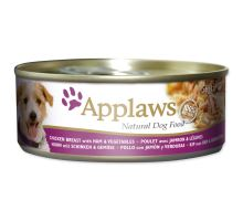 APPLAWS dog chicken, ham & vegetables 156g