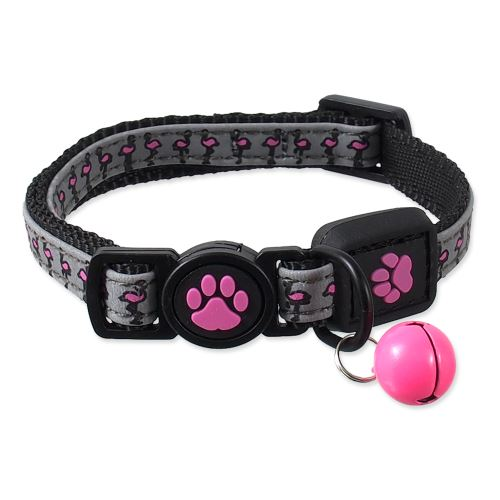ACTIVE CAT obojek Reflective růžový 1ks