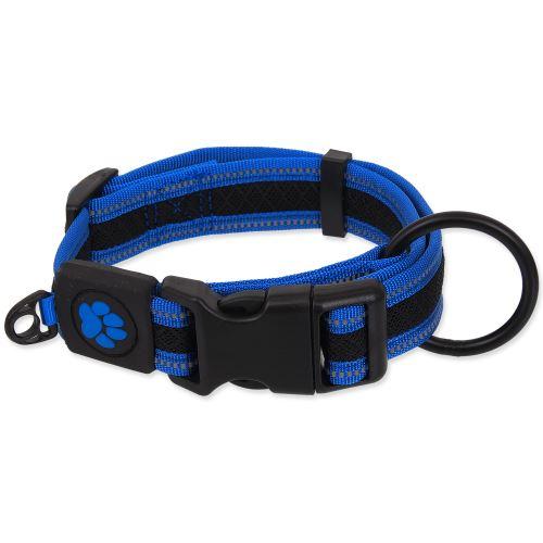ACTIVE DOG obojek Fluffy modrý 1ks