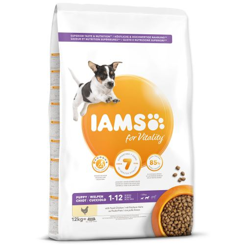 IAMS Dog Puppy Small & Medium Chicken