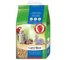 Kočkolit JRS Cat's Best Universal s jahodovou vůní 10l