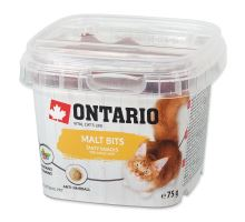 ONTARIO snack pro kočky malt bits 75g