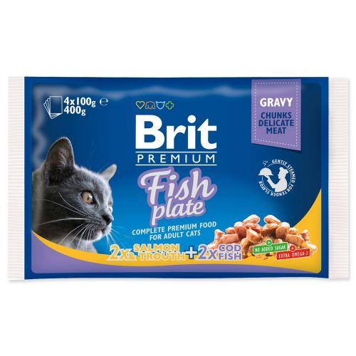 BRIT Premium Cat Fish Plate 400g