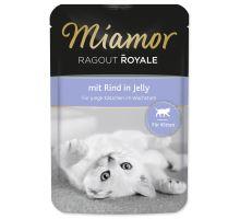 MIAMOR Ragout Royale Kitten hovězí v želé 100g