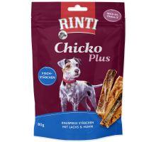 Pochoutka RINTI Extra Chicko Plus losos + kuře 80g