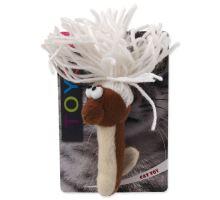 MAGIC CAT červík bavlněný plyšový mix 13,75 cm 1ks