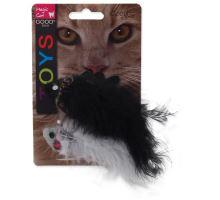 MAGIC CAT rybka se vzorem a catnipem chrastící mix 11 cm 2ks